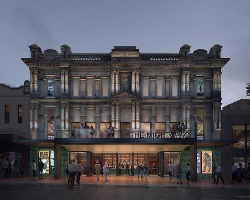 The theatre is expected to cost around AU$11.5m (US$7.8m, €7m, £6.1m) to refurbish, / Scott Carver / Synth Visual