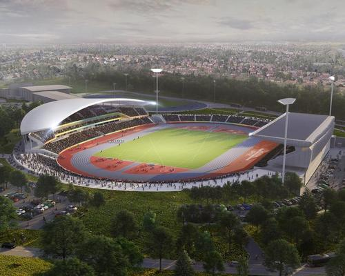 The stadium is at the heart of the wider effort to regenerate the Perry Barr area of Birmingham