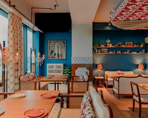Saniya Kantawala Design's homely Mumbai restaurant draws on warm materials and earthy tones