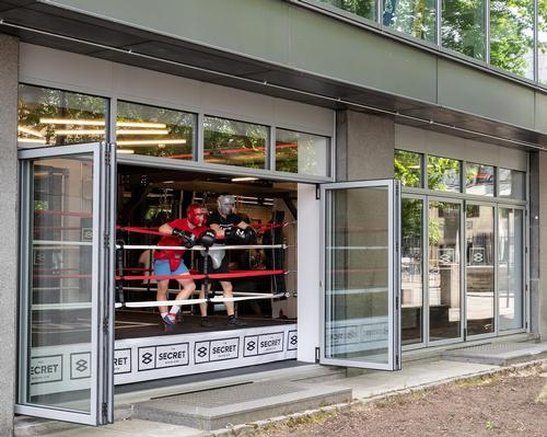 LXA's compact boxing gym opens up for al fresco training