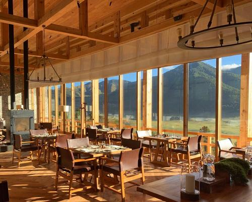 The Gangtey destination is home to a spa and signature restaurant. / Six Senses