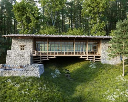 "Six Senses Gangtey is named the ""Traditional Bird Watching Bridge"". / Six Senses"