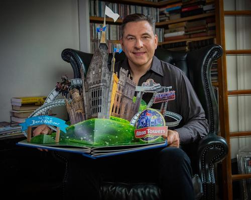 David Walliams has sold 33 million books worldwide / Merlin Entertainments
