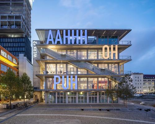 Artistic façade adorns adapatable, MVRDV-designed urban redevelopment