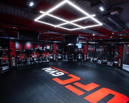 The club in Nottingham is the first of 105 clubs planned for the UK and Ireland over the next 10 years / UFC Gym
