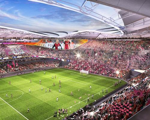 The proposed capacity for Miami Freedom Park is 26,000 / Inter Miami CF
