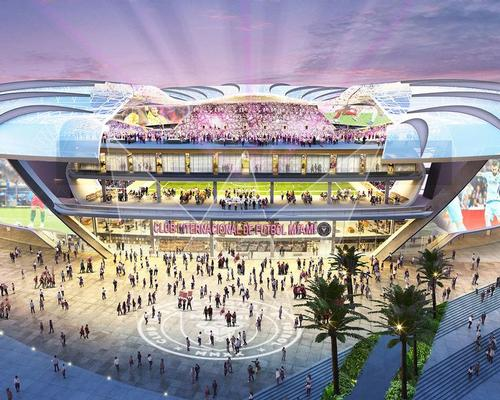 The Freedom Park and Soccer Village development is expected to open in 2022 / Inter Miami CF