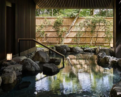 The natural spring water that flows near Aman Kyoto will be central to the philosophy at the resort's Aman Spa, and is something of great rarity in the region