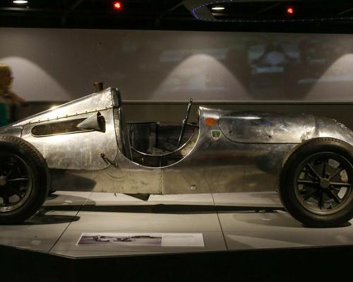 Exhibits range from the early days of motor racing... / The Silverstone Experience