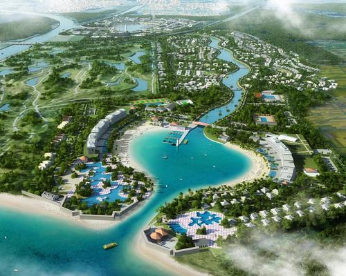 Ponce Paradise will combine a new town with a wellness offering, a canal quarter, a beachfront and a preservation area