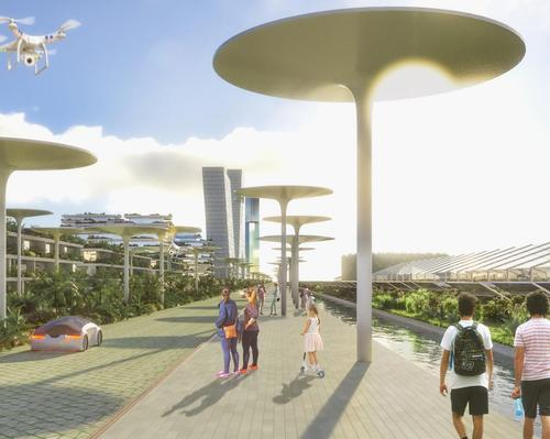 Stefano Boeri Architetti's Smart Forest City Cancun combines greenery and technology