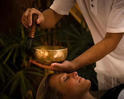 Day spa packages include spa treatments and a range of mindfulness activities. / Anantara Angkor Resort