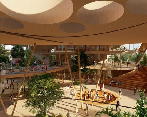 LAVA's learning centre uses social, spatial and leisure elements to optimise education