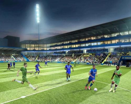 New visuals revealed for AFC Wimbledon's new stadium