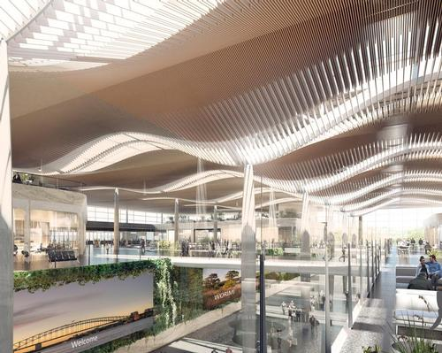 ZHA and Cox win Western Sydney Airport competition with leisure destination element
