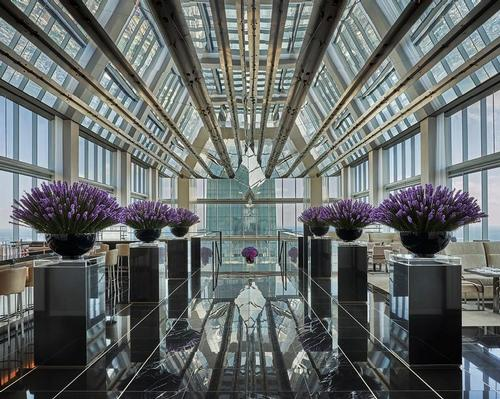 There is a Jean-Georges Philadelphia restaurant on the 59th floor / Four Seasons