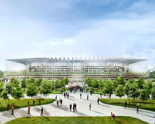 The proposals from Populous are based on demolishing the current venue and replacing it with an entirely new stadium called The Cathedral / Populous