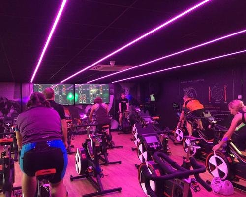 Usage of the studio has increased from 40 per cent to 80 per cent since the Wattbike Studio was installed