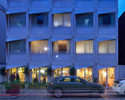 The hotel was designed for Stow Projects and Ciel Capital