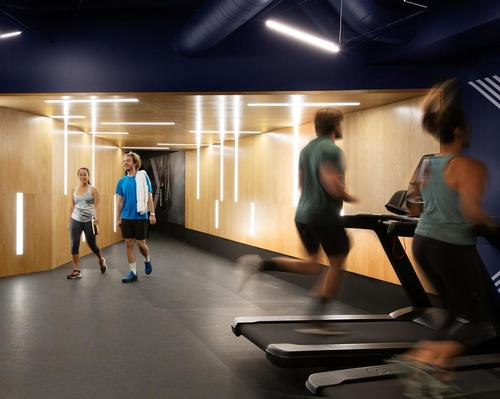 Best Practice Architecture's design touches create a progressive gym