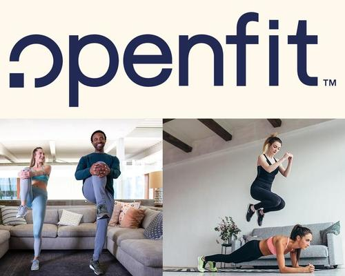 Openfit will offer more than 350 weekly live trainer-supervised workouts via digital streaming