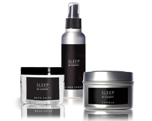 The package is suitable for retail, as a gift with sleep treatment or as a room amenity to connect the hotel and spa.