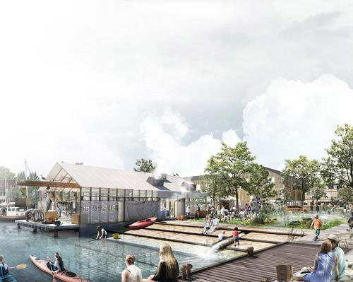 BOGL's masterplan relocates main square to reconnect town to the sea