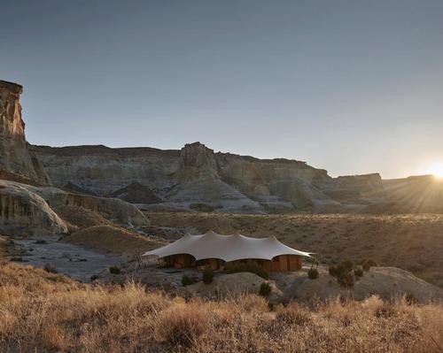 The desert encampment will open in 2020.