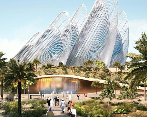 Foster + Partners' design for the Zayed National Museum incorporates five steel towers, inspired by the wings of the falcon / Foster + Partners