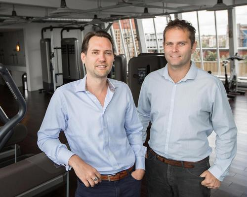 Jamie Ward (left) and Neil Harmsworth launched Hussle (then called PayAsUGym) in 2011