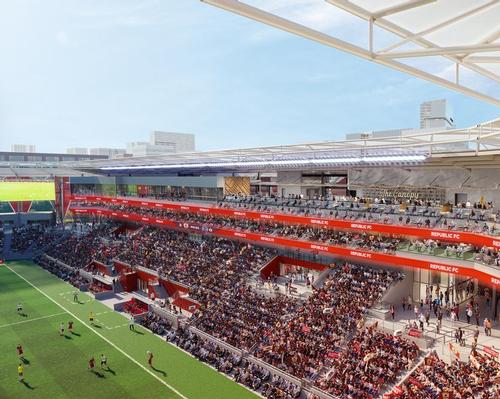 HNTB's Sacramento Republic FC stadium moves towards construction