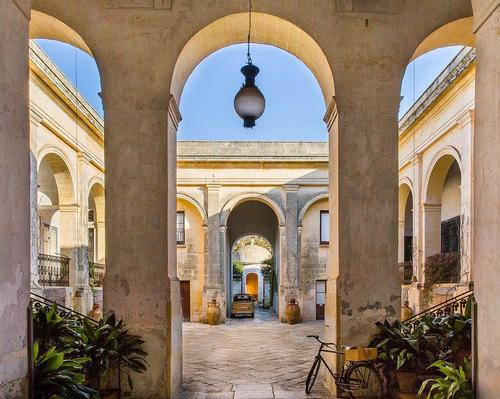 Palazzo Daniele is housed in an aristocratic townhouse that was built in 1861