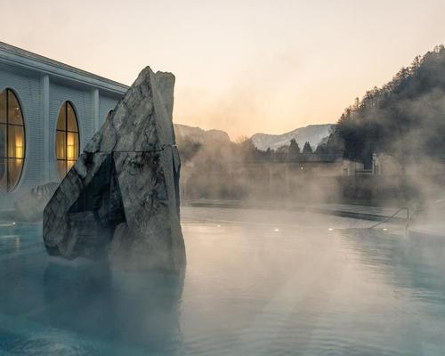 Swiss thermal partnership: Grand Resort Bad Ragaz joins forces with Clinics of Valens @resortragaz #Switzerland #TaminaGorge #ClinicsofValens #partnership
