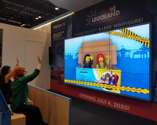 Holovis has developed a programme, called HoloTrac, that will transform guests into Lego Mini Figures
