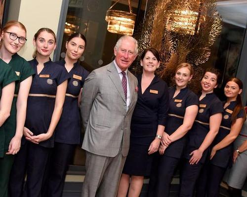 Prince Charles opens Monart's first UK sister-site