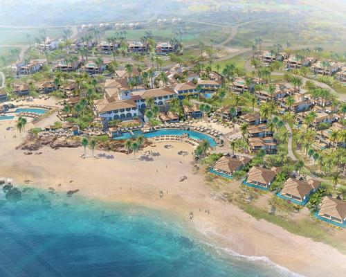 The resort will feature a mountain adventure park, La Montaña.
