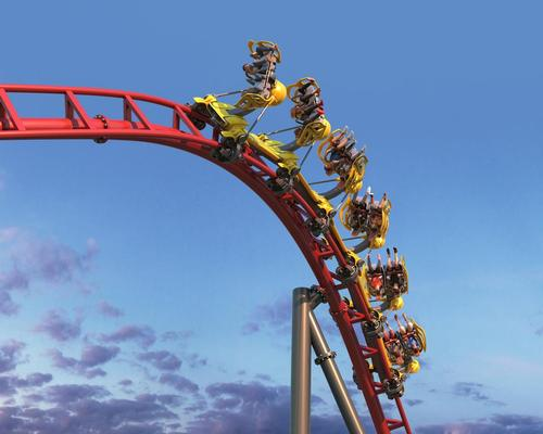 The Axis Coaster was launched at this year's IAAPA trade show in Orlando, Florida