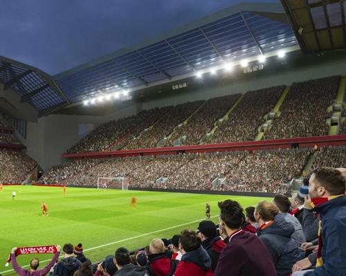 The plans include increasing the capacity of the Anfield Road Stand by around 7,000 seats / Liverpool FC