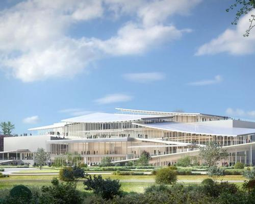 Construction work on the New National Gallery in Budapest's City Park were due to begin in 2020
