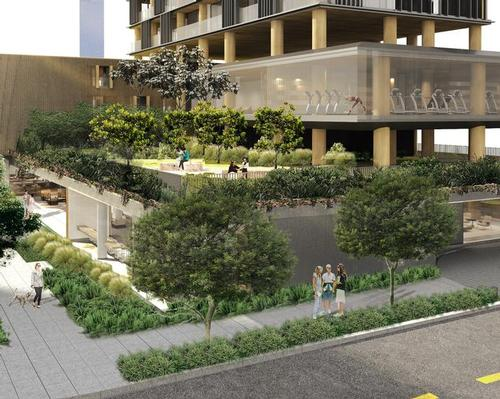 Praça Henrique Monteiro will cover an area of 3,000sq m (32,300sq ft) / Studio Arthur Casas