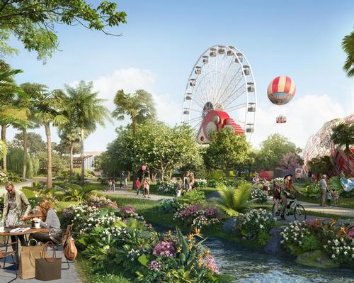 The Wonderland neighbourhood will be a themed world for children