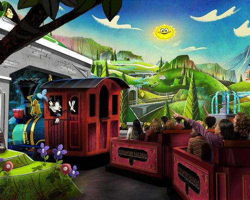 Mickey & Minnie's Runaway Railway will open in March 2020