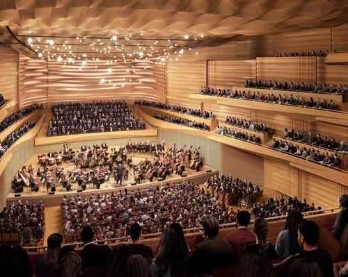 The project will see the creation of a more intimate performance venue with improved acoustics