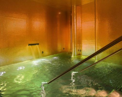 The 2,000sq m, 11-treatment-room spa spans two subterranean levels.