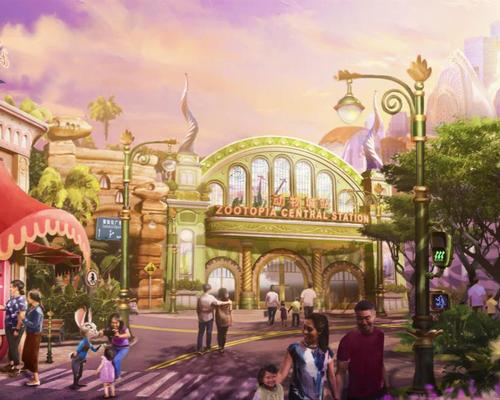 <i>Zootopia</i> will be the second major expansion so far at Shanghai Disney Resort