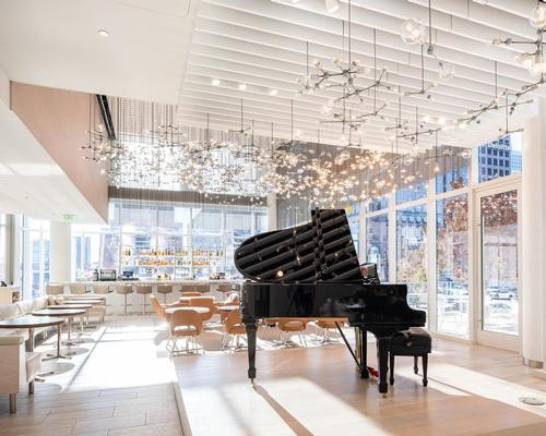 Hall Arts Hotel, designed by HKS Architects and Bentel & Bentel, opens in Dallas