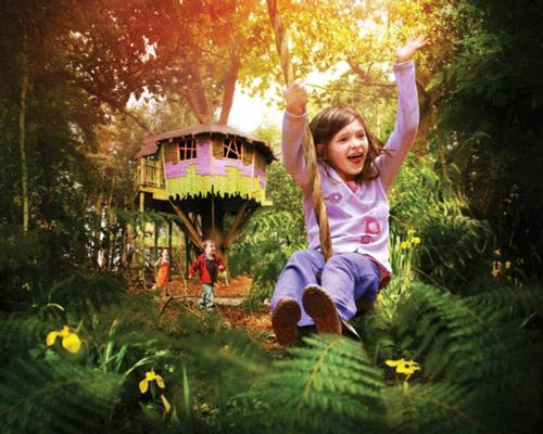 Bewilderwood encourages children and adults to play and engage with nature