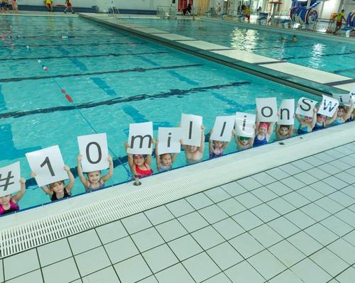 Swim England and Everyone Active reach landmark swims target