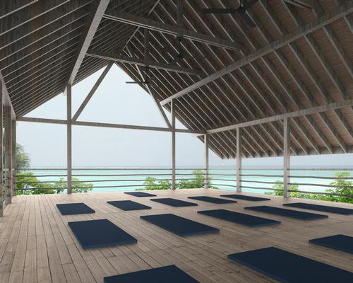 The studio will be used for Pilates and yoga classes.