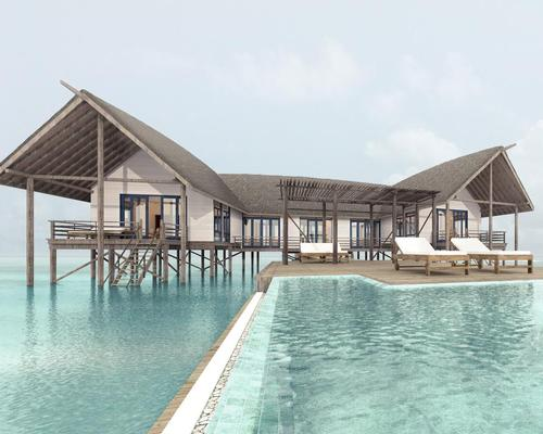 The resort has also gained an open-sided studio, which sits in an elevated position above the lagoon, offering 360-degree views.